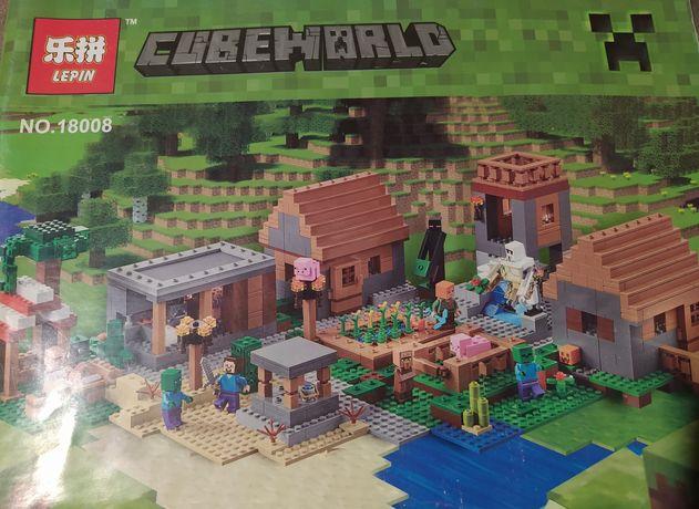 Klocki Lepin jak LEGO Minecraft