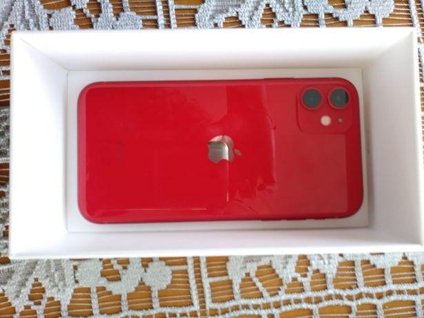 iPhone 11 Red czerwony 64 NOWY od ręki