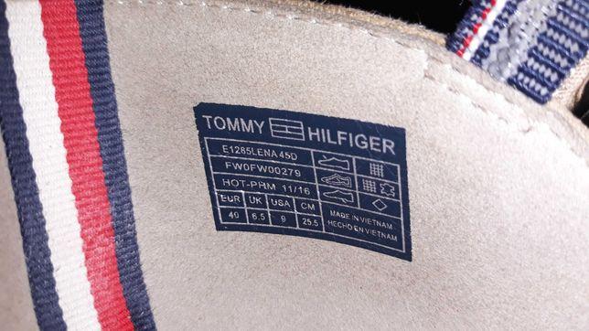 Piękne damskie buty Tommy Hilfiger r.39