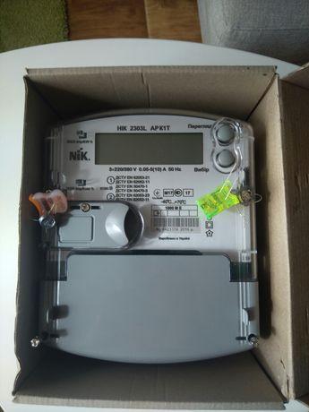Многотарифный счетчик эл.энергии НIK 2303 L ARK 1T 1000 ME поверенный