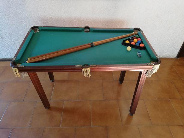 Mesa de snooker para crianças