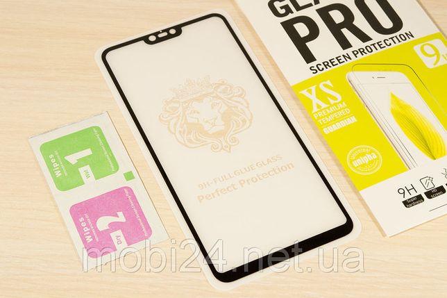 Защитное стекло Full Glue на Xiaomi Mi 8 Lite / Redmi S2 для сяоми