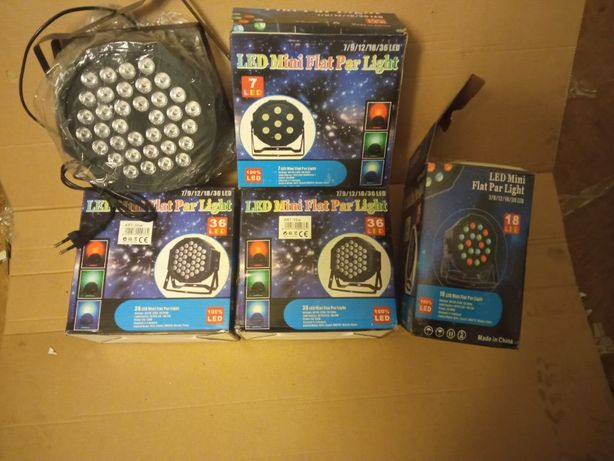 Lampy stroboskopowe 76 W , programowalne 4szt