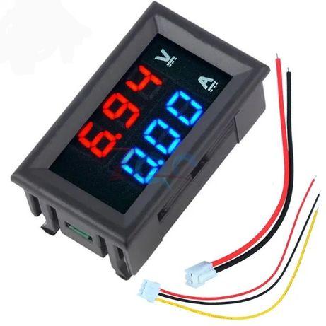 voltimetro + amperimetro
