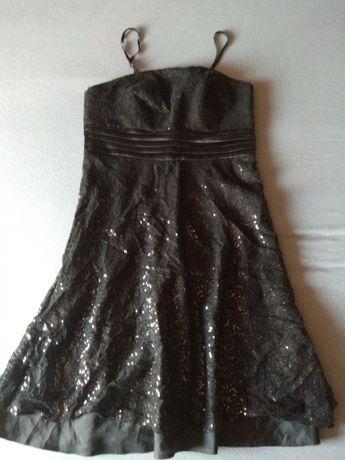 Czarna sukienka roz 40