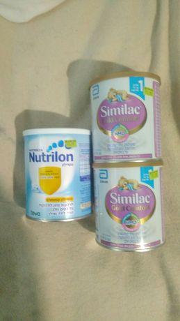 Similac 1 без пальмового масла  каша детская Nutrilon 0