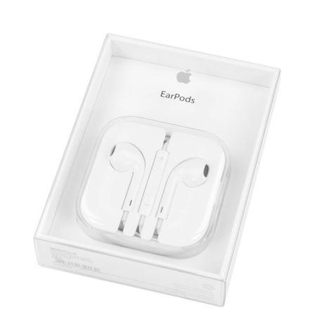 Auriculares Apple EarPods Jack 3.5 mm Branco Original®