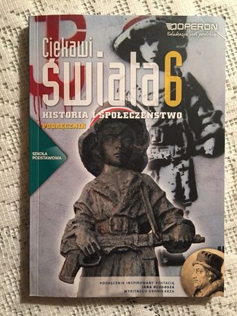 Historia i społeczeństwo 6. Podręcznik. Ciekawi świata