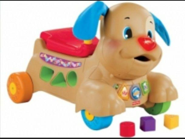 Собака- каталка Fisher price