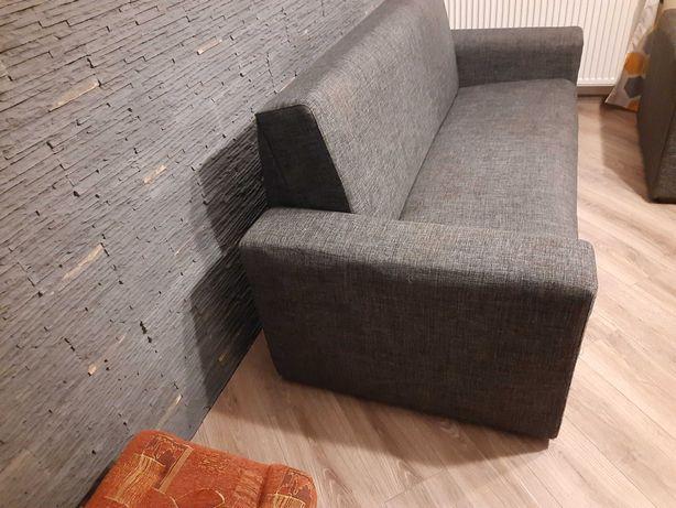 Sofa rozkładana i fotel rozkładany