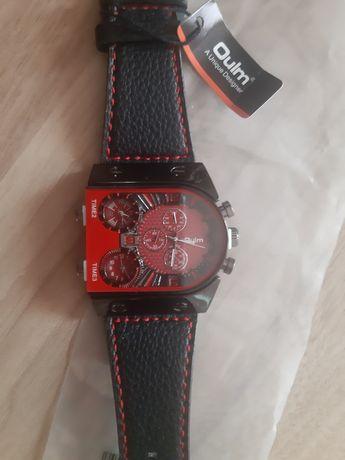 Zegarek OULM milytary czerwony
