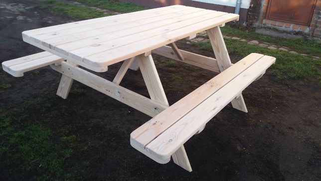 Meble Ogrodowe Stół ogrodowy piknikowy piwny