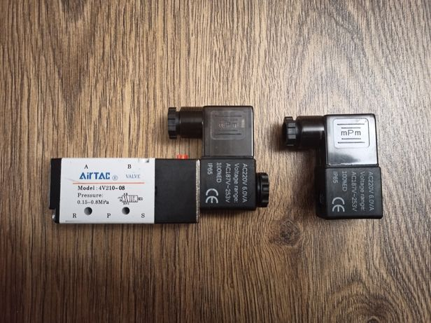 AirTac пневмораспределитель, соленоид,  4V210-08