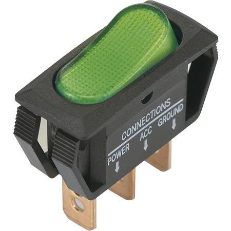 Przełącznik kołyskowy TRU Components TC-R13-242B2 12 V / DC 25 A