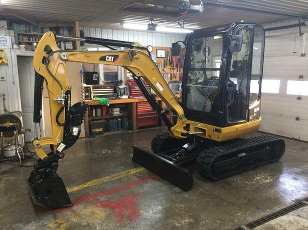 Naprawa minikoparek, maszyn budowlanych, leśnych (HDS) i rolniczych