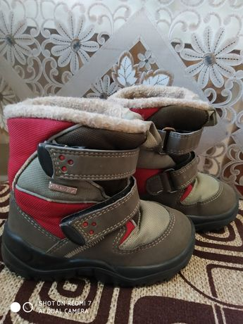 Зимові сапожки, ботінки Chicco Tex
