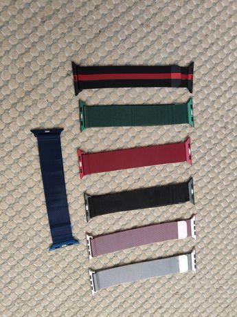 Braceletes de metal para Apple Watch
