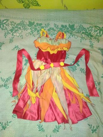 Платье осень в садик