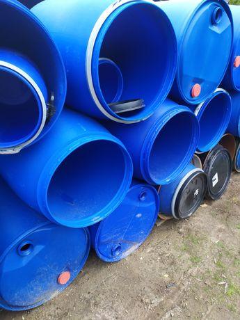 Beczka beczki zbiornik pojemnik baniak pomost szambo wodę plastikowa