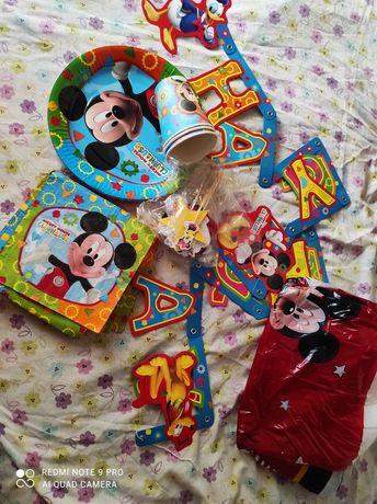 Artigos de festa aniversário Mickey