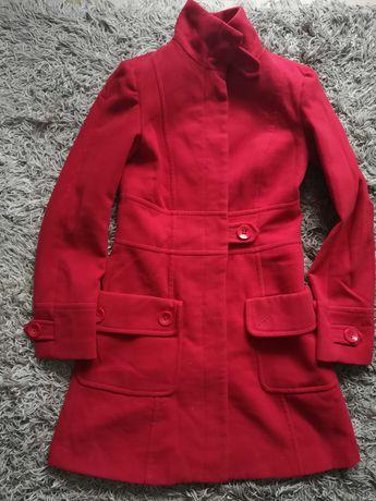 Czerwony płaszcz zimowy Atmosphere 36