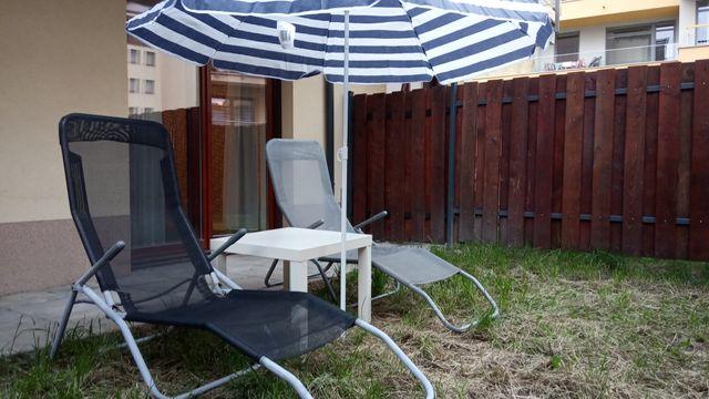 Mieszkanie + ogródek+miejsce postojowe