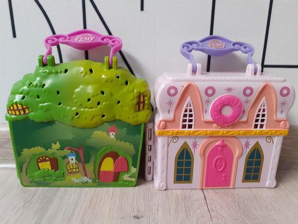 Dwa domki walizki My Little pony