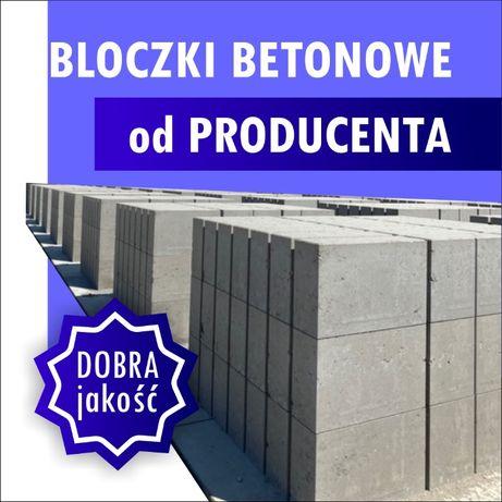 Bloczek betonowy Bloczki betonowe fundamentowe Pustak Pustaki B15-B20