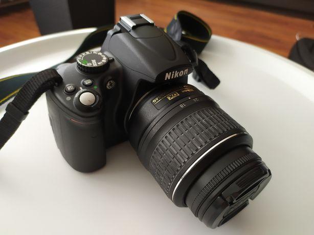 Nikon D 5000 obiektyw nikkor AF-S 18-55mm