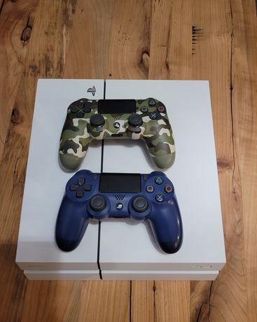 Konsola PS4 : dysk 500GB Oryginalny pady PS4 2 sztuki