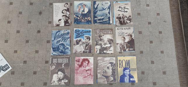 Stare Foldery z DDR Filmów z Bloku Komunistycznego lata 52-61 WYSYŁAM