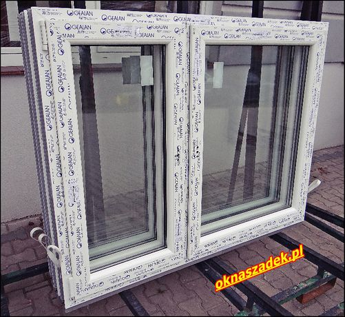 Okno PCV 1465 x 1435 dostępne od ręki! Okna nowe Szadek łódzkie