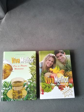 Conjunto 2 livros saúde