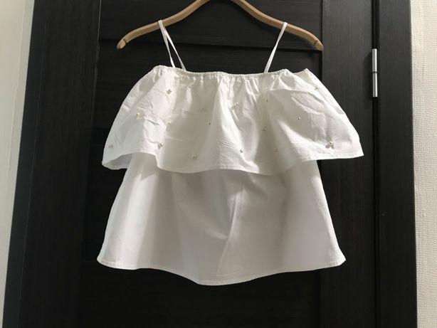 Новая блузка в размере s. 100% хлопок