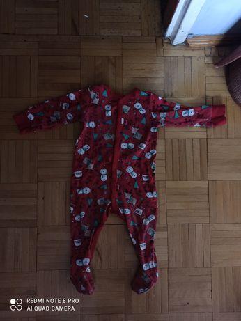Piżama świąteczna 74cm