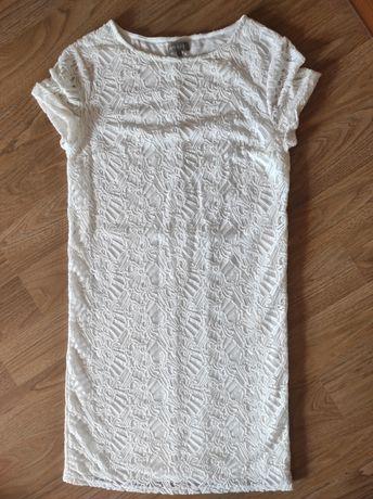 Нарядное белое платье Mosaic