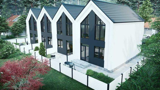 Твой дом таунхаус в Ирпене  - по цене квартиры. Скандинавский стиль.
