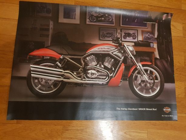 Poster Moto Harley Davidson