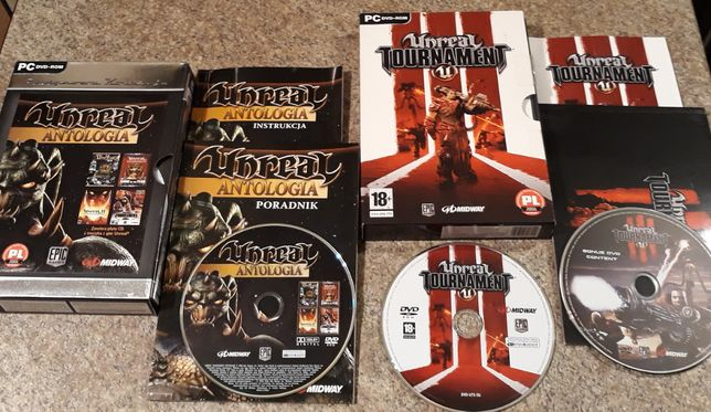 Unreal Antologia + Unreal Tournament III PC