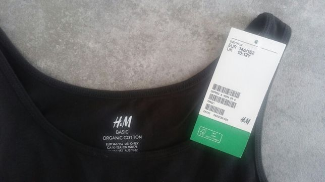r. 146-152 H&M Nowa koszulka