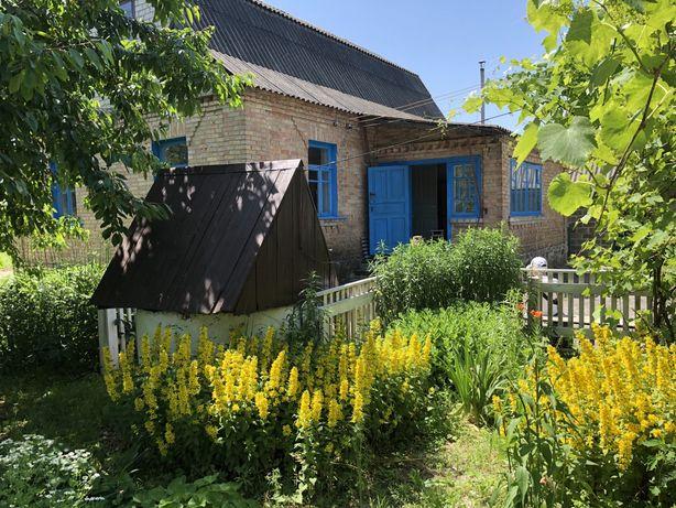 Будинок в Гурівщині  на 23 сотках газ електрика