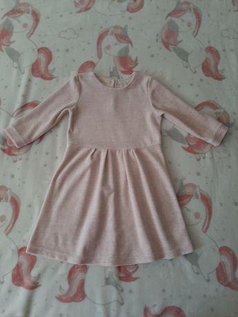 Różowa sukienka baby GAP 5 lat