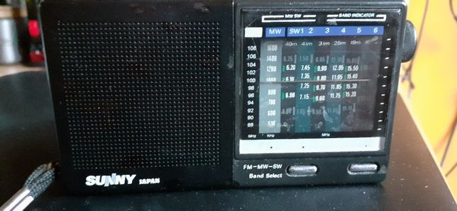 Radyjko tranzystor S U N N Y Japan