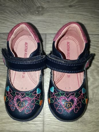 Кожаные туфли туфельки Agatha Ruiz de la prada