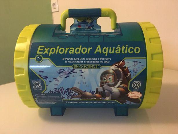 Kit Infantil de Experiências- Explorador Aquático- Como NOVO
