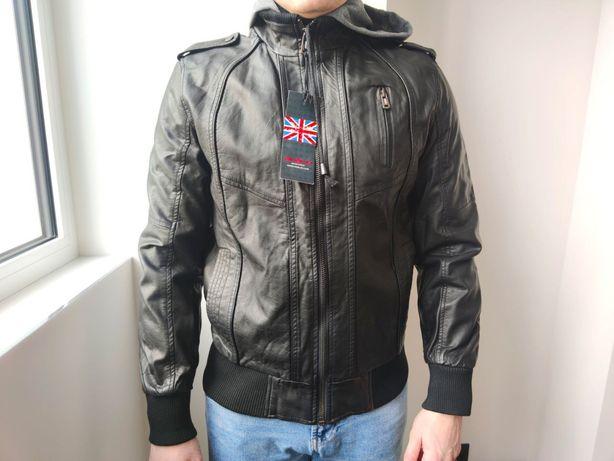 Продам мужскую куртку (кожзам)