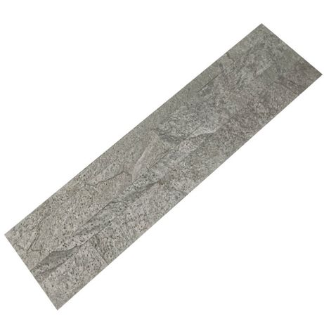 Panel Samoprzylepn Quick Stone 3D Silver Grey 60x15x0,2