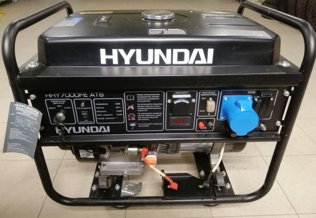 Электрогенератор бензиновый Hyundai HHY 7000 FE ATS