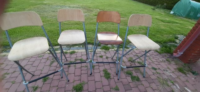 Krzesła barowe Ikea