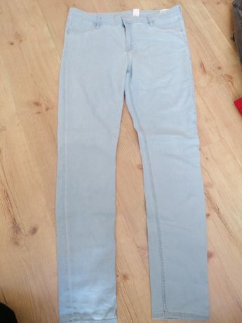 Spodnie dzinsy H&M jak nowe rozmiar 170 jak S/M